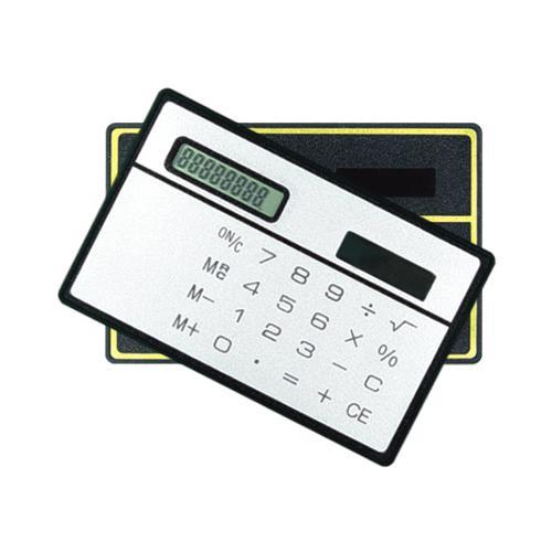 卡片式太阳能计算器