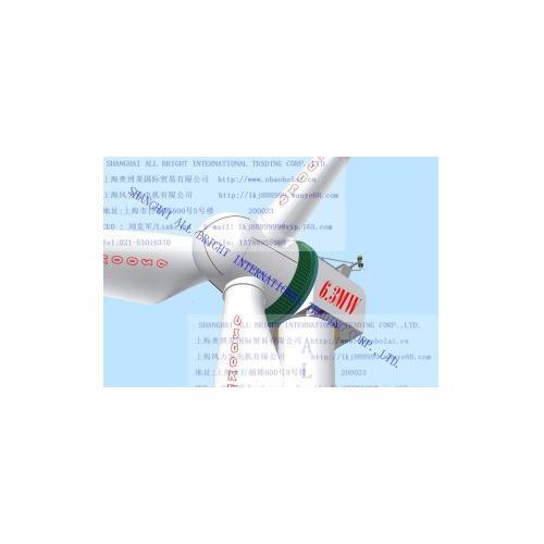 6.3MW永磁直驱风力发电机组