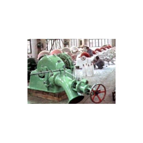斜击式水轮发电机组