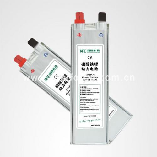 磷酸铁锂软包电池电芯