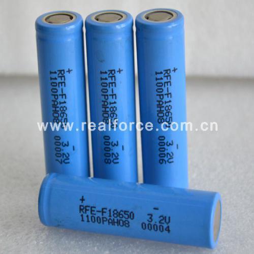 圆柱磷酸铁锂电池