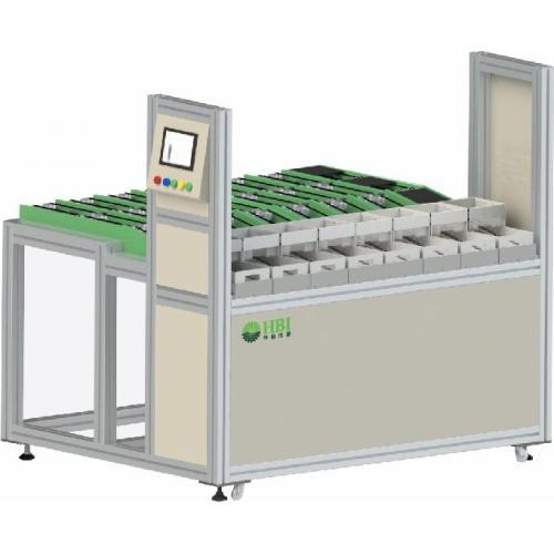 湿法清洗设备自动下料系统