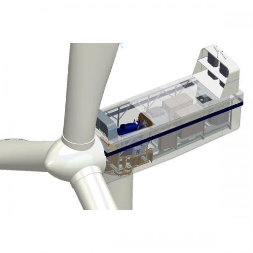 3.6MW半直驱永磁风力发电机组