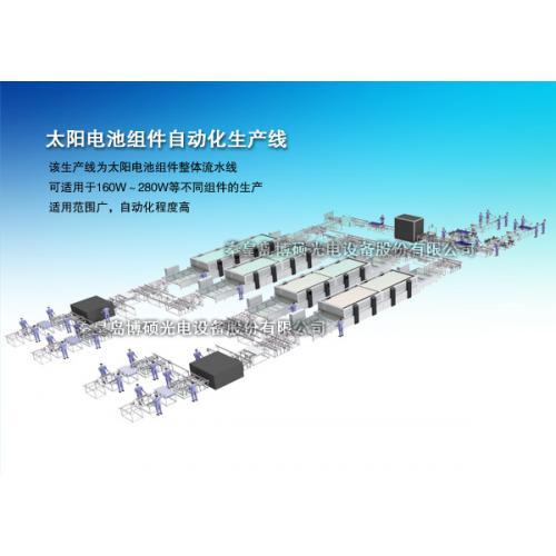 太阳电池组件自动化生产线