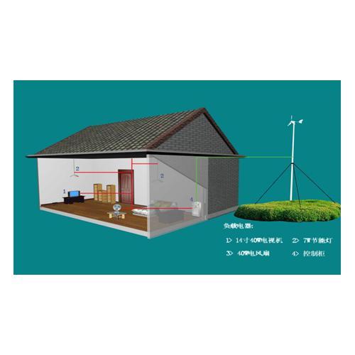 无电户风光互补独立供电系统