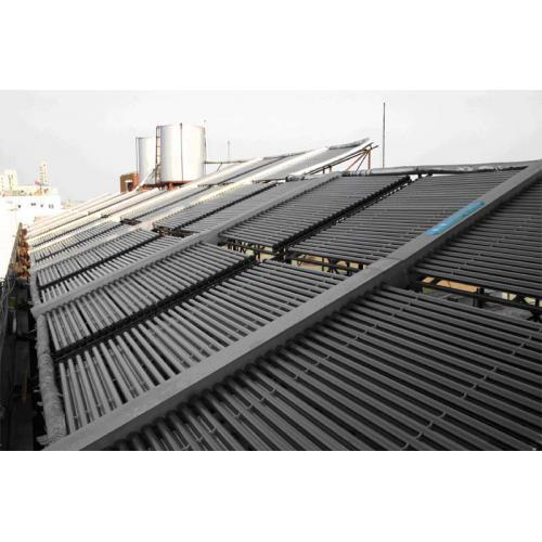 联集管式集中供热水型太阳能热水系统
