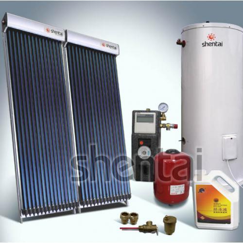 別墅分體式太陽能熱水器