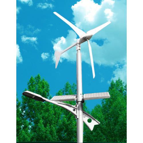300W風光互補太陽能路燈供電