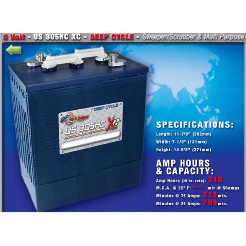 US305HCXC電池
