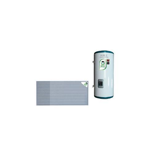 蓝钛平板挂壁太阳能热水器