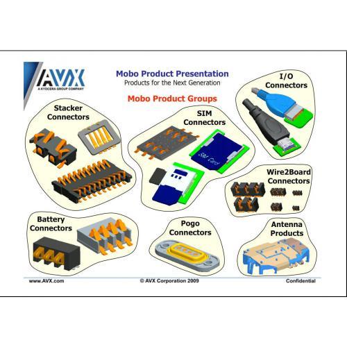 美国AVX连接器