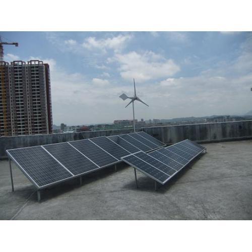 3KW风光互补太阳能发电系统