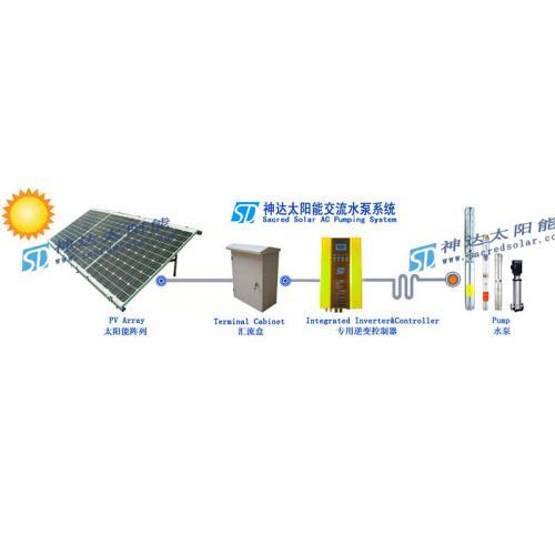 神达太阳能交流水泵系统