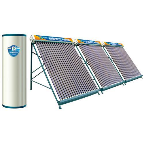 U型管分體式太陽能熱水器