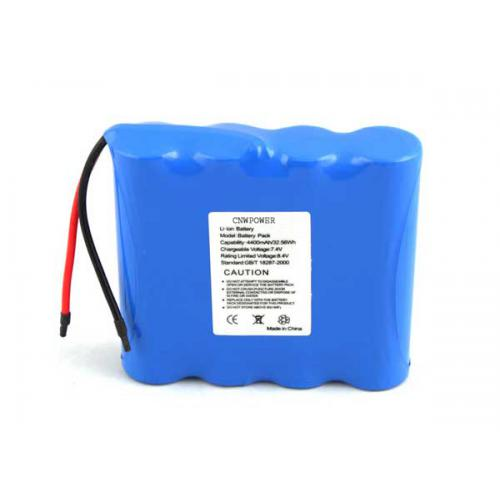 7.4V锂离子电池 4400mA