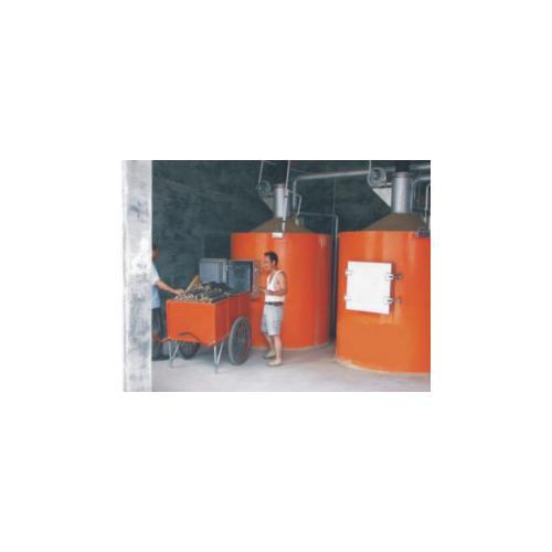 生物质热解气化站