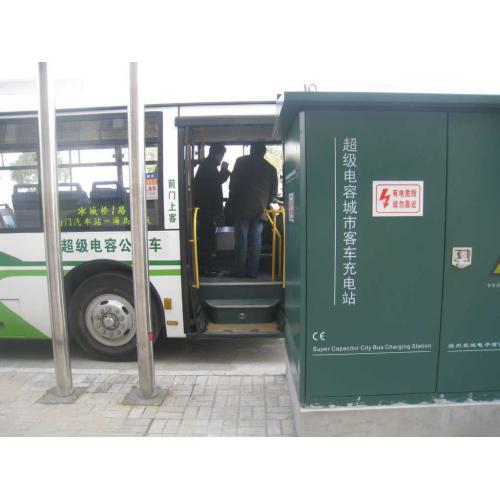 超级电容城市电动客车供电系统