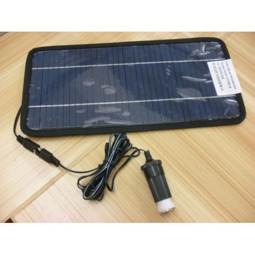 12V8W太阳能汽车充电器