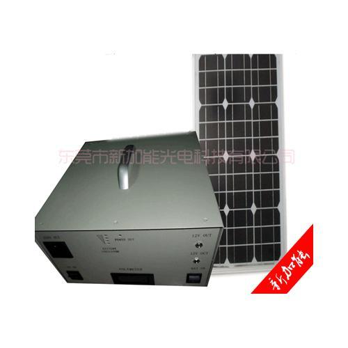 100W 家用小型太阳能发电系统
