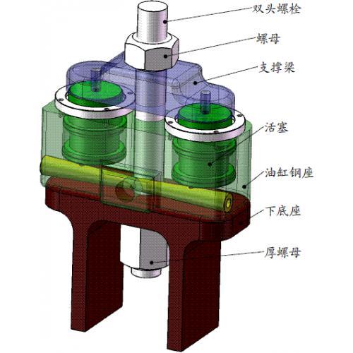 液壓雙缸高強螺栓張拉器張拉法緊固