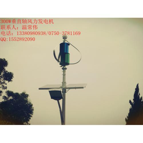 300W小型垂直轴风力发电机