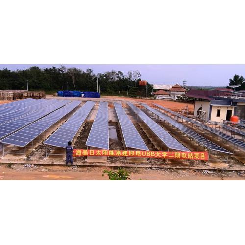 工业屋顶太阳能发电系统