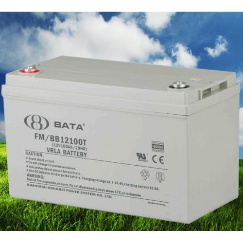 12V100AH太陽能鉛酸蓄電池
