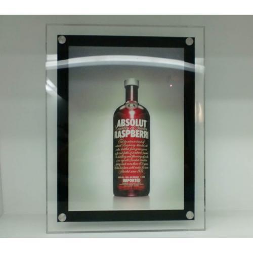 LED超薄水晶灯箱