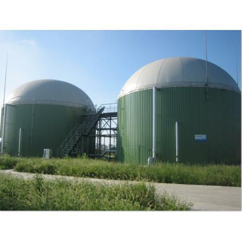 600m³双膜储气柜