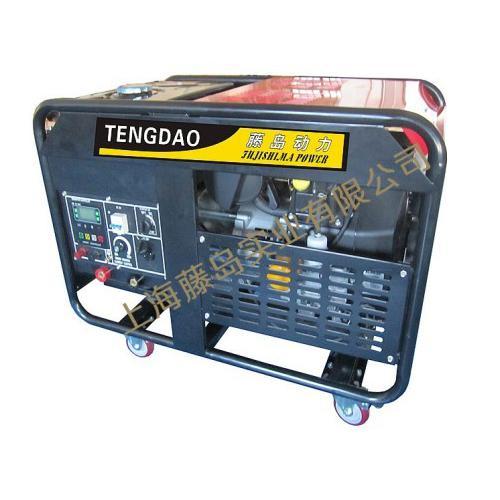 300A汽油發電電焊機組
