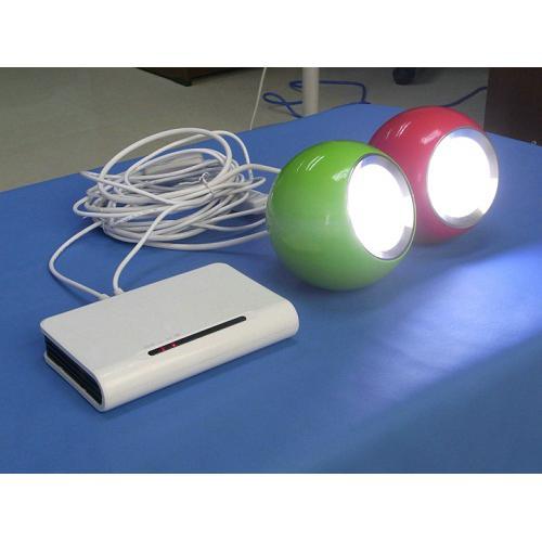 太阳能锂电系统遥控LED苹果灯