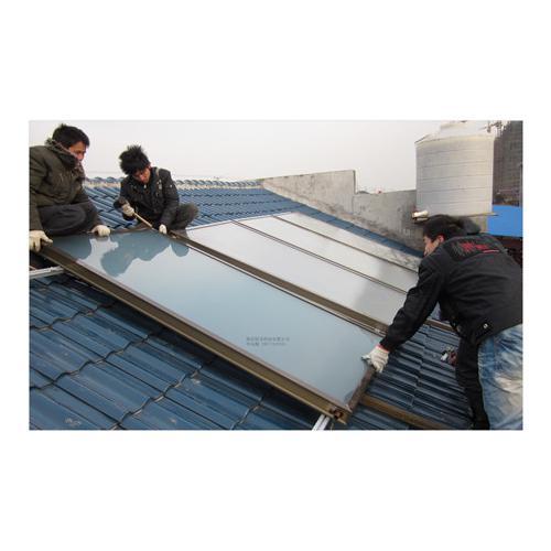 平板太阳能热水工程系统