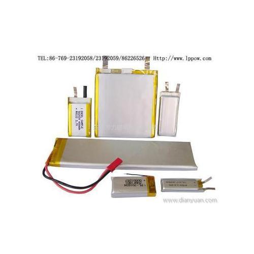 3.7V方形锂聚合物锂电池