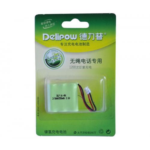 無繩電話專用鎳氫充電電池