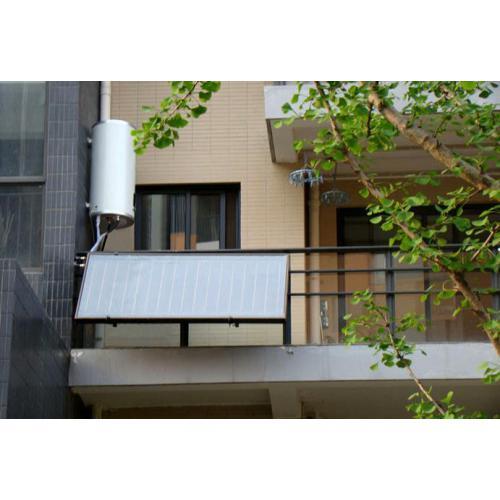 平板阳台壁挂式蓝膜集热器