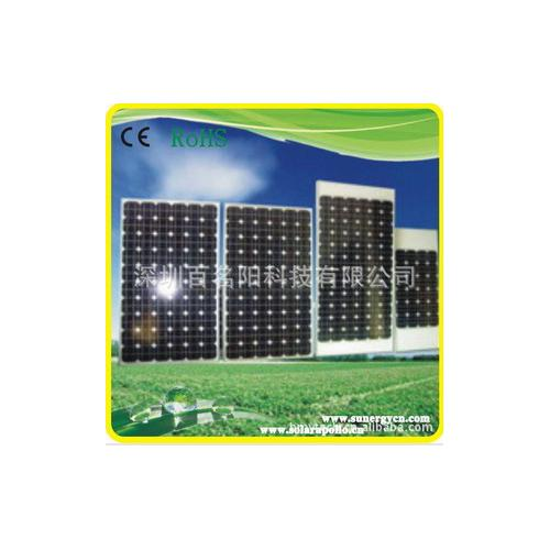180W单晶硅太阳能电池板
