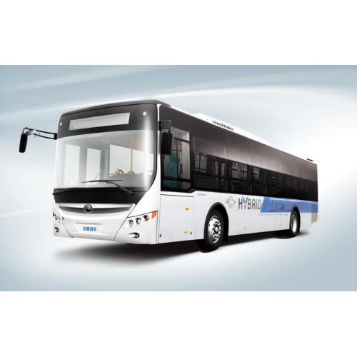 宇通大容量混合动力公交车