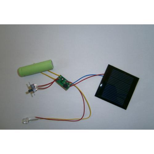 1.2v 供电太阳能线路板