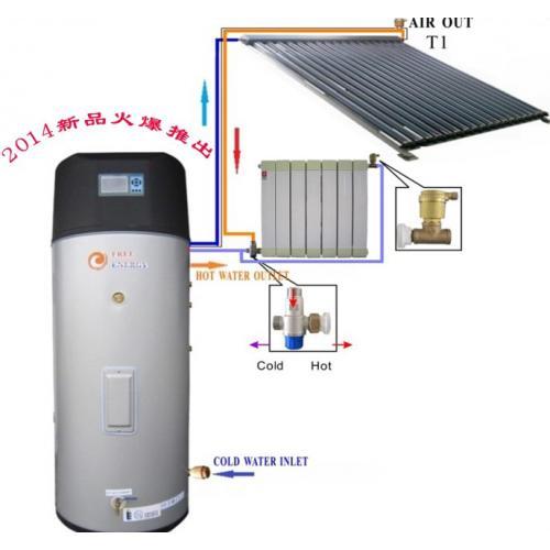 换热式分体承压太阳能采暖系统
