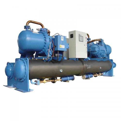 商用螺桿地源熱泵機組設備