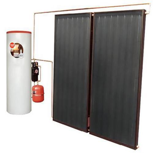 平板分體式太陽能熱水器