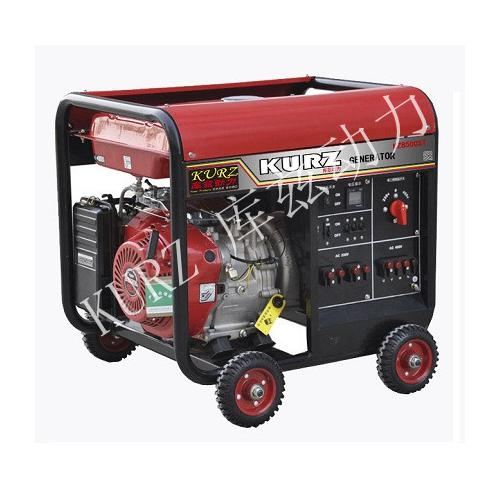 電啟動7.5KW三相汽油發電機