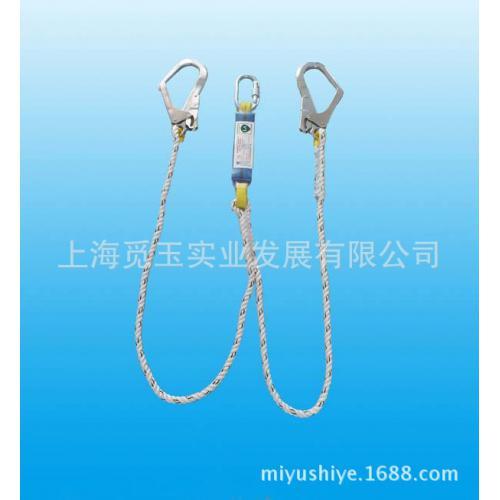 双挂钩吸能缓冲安全带连接绳安全钩