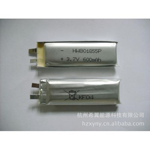聚合物锂电池(801855)图片