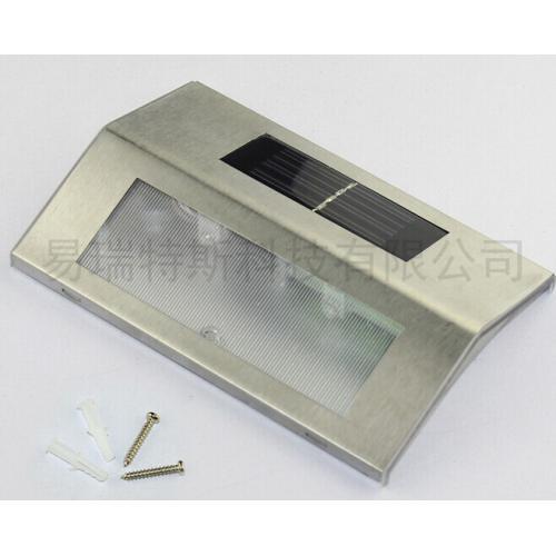LED不锈钢太阳能楼梯灯