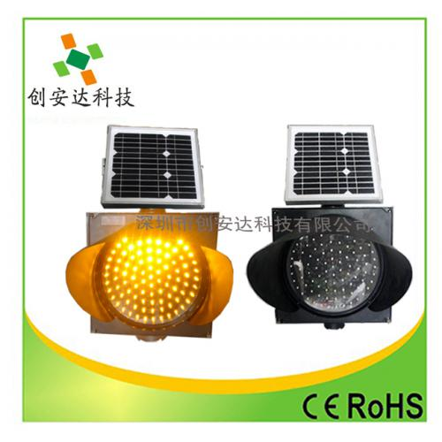 300MM太阳能黄闪灯