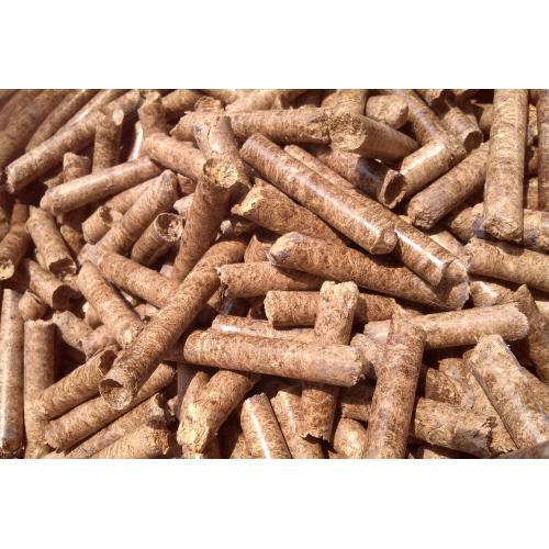 花生壳秸秆混合成型燃料