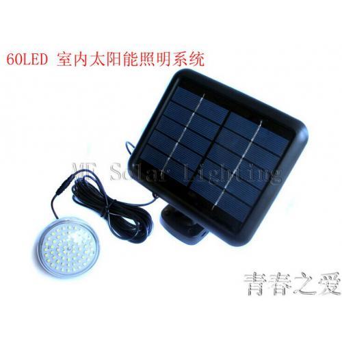 60LED太阳能灯泡