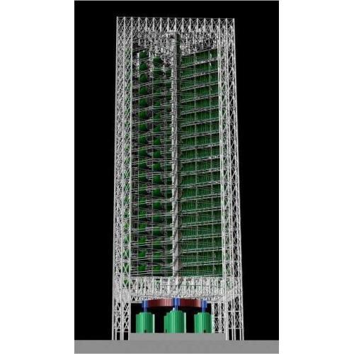 超大型垂直軸風力發電裝置配件