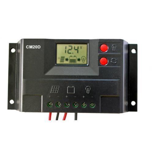 20A带液晶显示太阳能控制器